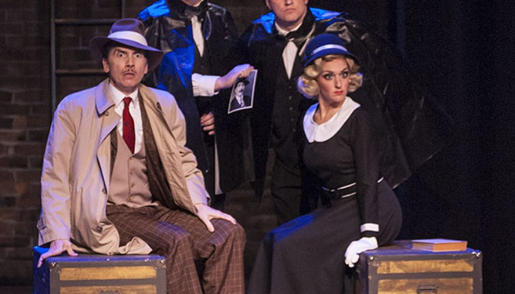 Rivertown's production of 'The 39 Steps' is sheer frolic