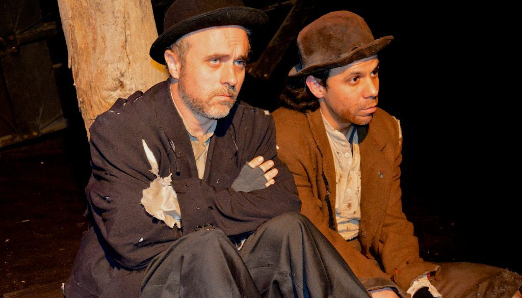 Could Beckett's world in 'Godot' be a preview of a bleak future universe?
