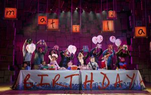 """The cast of the national tour of """"Matilda."""" (Photo by Joan Nathan)"""