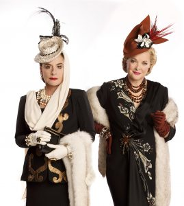 """Patti LuPone and Christine Ebersole as cosmetics rivals in """"War Paint."""" (Photo by Joan Marcus)"""