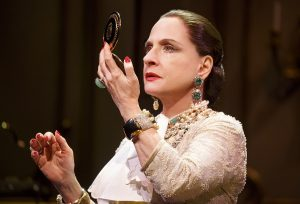"""Patti LuPone as Helena Rubinstein in """"War Paint."""" (Photo by Joan Marcus)"""