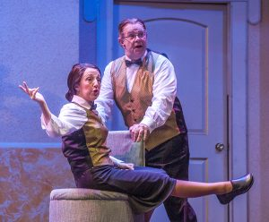 """A hilarious romp in """"It Shoulda Been You."""" (Photo by George Schiavone)"""