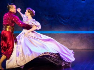 Jose Llana and Laura Michelle Kelly star in the national tour of Rodgers and Hammersteins
