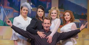 """Paul O'Donnell leads the cast as Guido in the Broward Stage Company's production of """"Nine."""" (Photo by David Martinek)"""
