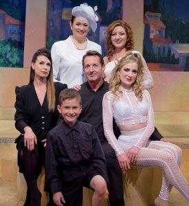 "The cast of ""Nine."" (Photo by David Martinek)"