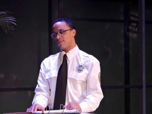 Thaddeus McCants plays supervisor William, who has to make a decision. (Photo by Ryan Decker)