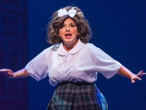 Tracy Turnblad as played by Kristin Collura. (Photo by Michael Palumbo Photography)