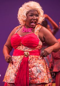 Motormouth Maybelle (Jacqui Cross) knows where she's been. (Photo by Michael Palumbo Photography)