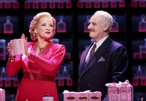 Christine Ebersole, right, with John Dossett. (Photo by Joan Marcus)