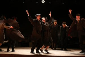 "The cast of ""Indecent"" finishing its run at the Cort Theatre in New York. (Photo by Carol Rosegg)"