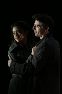 "Adina Verson and Max Gordon Moore in ""Indecent,"" directed by Tony Award winner Rebecca Taichman. (Photo by Carol Rosegg)"