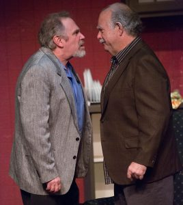 "Al (left) and Willie don't exactly see eye to eye in ""The Sunshine Boys."" (Photo by George Wentzler)"