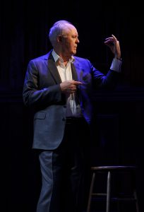 Lithgow took ten years to hone these stories in 35 different cities. (Photo by Joan Marcus)