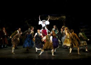 """Dancing number from """"Brigadoon."""" (Photo by Amy Pasquantonio)"""
