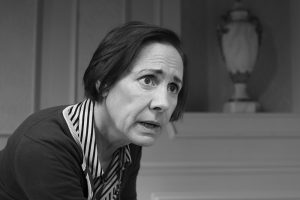 Laurie Metcalf in Edward Albee's Three Tall Women, directed by Joe Mantello, at the Golden Theatre. (Photo by Brigitte Lacombe)