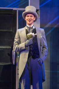 John Michael Haas as Freddy Einsford-Hill. (Photo by Michael Palumbo Photography)