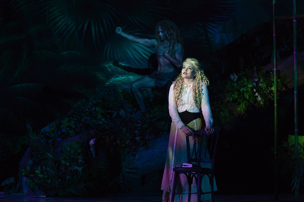 Musical Tarzan Lands At Atlanta Lyric Theatre Theatre Criticism