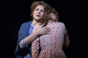 Renée Fleming with Jessie Mueller. (Photo by Julieta Cervantes)