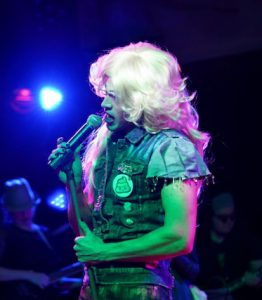 Hedwig leads the band The Angry Inch. (Photo by Michael Alford)