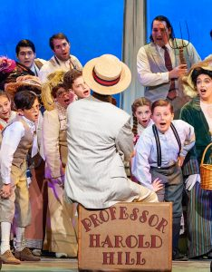 """The Music Man,"" presented by Rivertown Theaters for the Performing Arts. (Photo by John Barrois)"