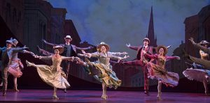 """Dancers from """"Hello, Dolly!"""" (Photo by Julieta Cervantes)"""
