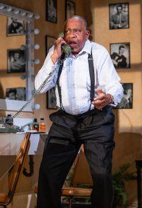 Henley as Joe Glaser. (Photo by Brittney Werner)