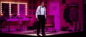"Barry Shabaka henley stars as Louis Armstrong in ""Satchmo at the Waldorf."" (Photo by Brittney Werner)"