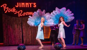 """Mandy Mueller is Judy Haynes with Melissa Cotton Hunter as Betty Haynes in """"Sisters."""" (Photo by John Barrois)"""