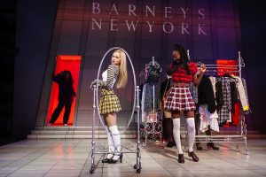 "Dove Cameron as Cher and Zurin Villanueva as Dionne in ""Clueless, The Musical."" (Photo by Monique Carboni)"
