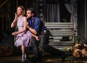 Baby Doll (Maggie Windler) with Silva Vicarro (Todd D'Amour). (Photo by Sara Tweedy)