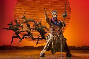 Buyi Zamba as Rafiki. (Photo by Deen Van Meer)