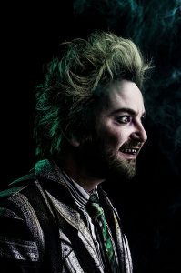 Alex Brightman as Beeteljuice. (Photo by Matthew Murphy)
