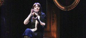 "Mona Golabek in ""The Pianist of Willesden Lane."" (Photo by Karen Racanelli)"