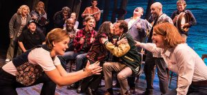 """The first national tour of """"Come From Away."""" (Photo by Matthew Murphy)"""