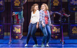 Alyssa (IIsabelle McCalla) and Emma (Caitlin Kinnunen) share a moment. (Photo by Deen van Meer)
