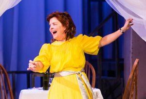Judy Lea Steele as Amanda Wingfield. (Photo by James Kelley)