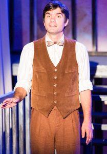 Nathaniel Twarog as Tom Wingfield. (Photo by James Kelley)