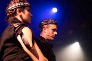 Lady Macbeth (Laura Plyer) and her king (Seth Trucks). (Photo by Ryan Arnst)