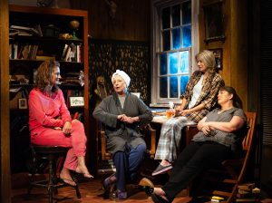 Mother and sisters (l-r) Karen (Jenny Mercein), (Violet) Ellen Barry, (Barbara) Aimée Hayes and ivy (Mandy Zirkenbach). (Photo by John Barrois)