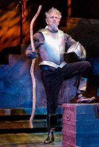 Michael McKenzie as Don Quixote. (Photo by Jacek Photo)