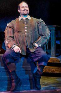 Mark Kirschenbaum as Sancho Panza. (Photo Jacek Photo)