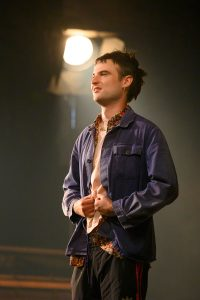 "Tom Sturridge in ""Sea Wall/A Life."" (Photo by Richard Hubert Smith)"
