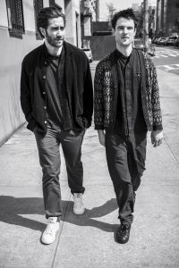 Jake Gyllenhaal and Tom Sturridge. (Photo by Max Vadukul)