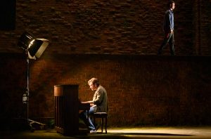 "Jake Gyllenaal, left, and Tom Sturridge in ""Sea Wall/A Life."" (Photo by Richard Hubert Smith)"