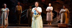 "Mariah Lyttle and the company of the national tour of ""The Color Purple."" (Photo by Jeremy Daniel)"