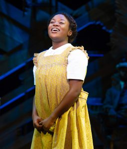 Mariah Lyttle as Celie. (Photo by Jeremy Daniel)