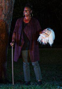 "Maryam Fatima Foye in ""The Legend of Sleepy Hollow."" (Photo by John Barrois)"
