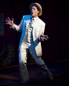 John Tartaglia as Harold Hill. (Photo by Amy Pasquantonio)