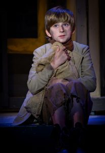 """Arthur Victor Rusnak is Oliver Twist in """"Oliver!"""" (Photo by John Barrois)"""