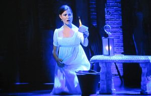 "Phillipa Soo as Eliza Hamilton in ""Burn."" (©2020 Disney Pictures via screenshot)"